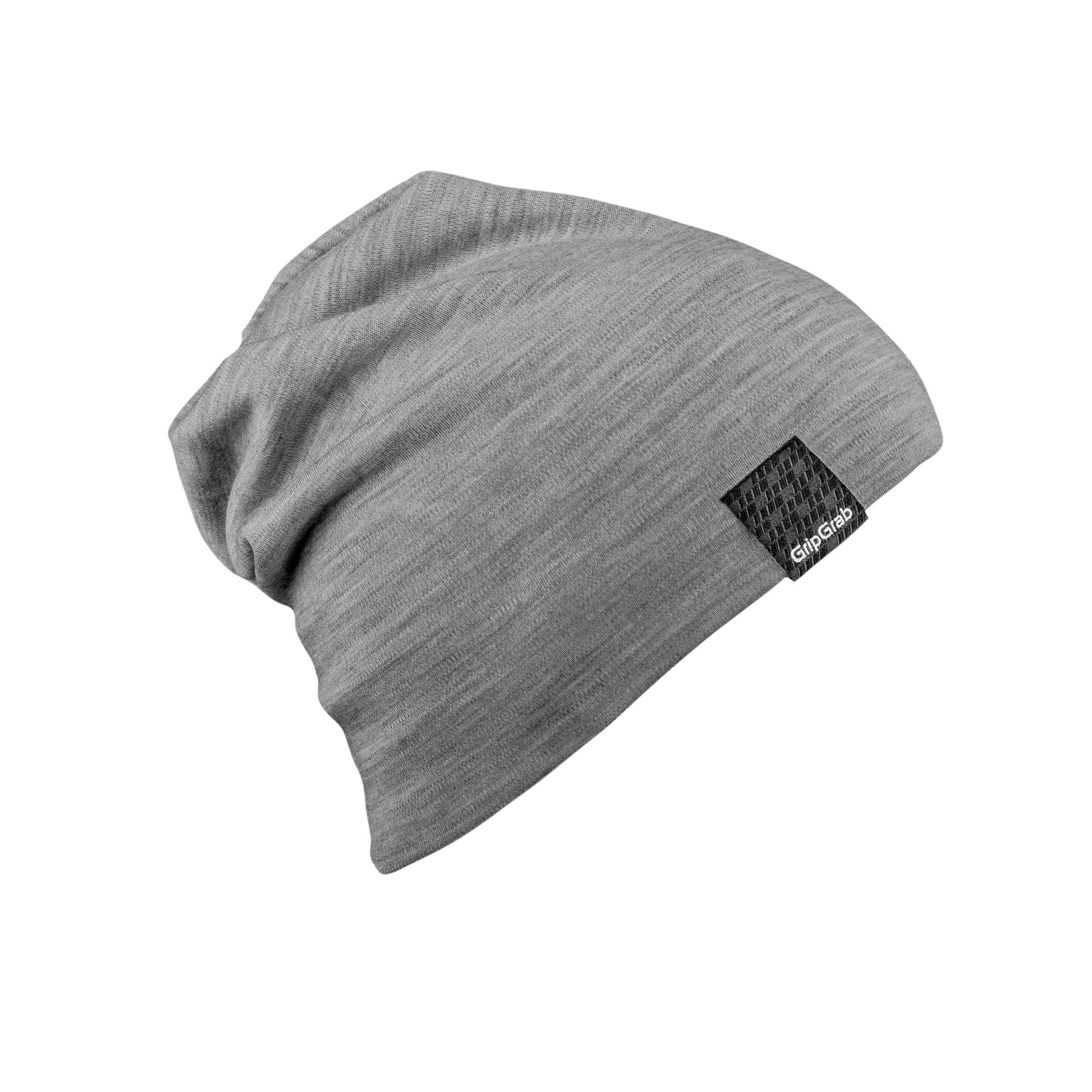 Afbeelding GripGrab Casual Muts Unisex Grijs - Midweight Merino Beanie Grey