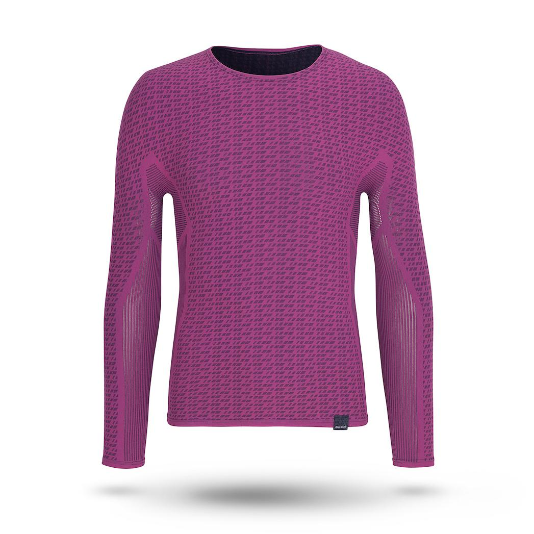 GripGrab Ondershirt lange mouwen Unisex Roze / Freedom Seamless Thermal Base Layer LS