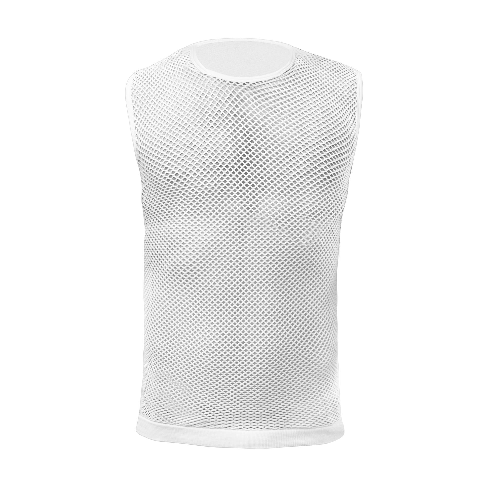 Afbeelding GripGrab Ondershirt mouwloos Unisex Wit / 3-Season Sleeveless Base Layer