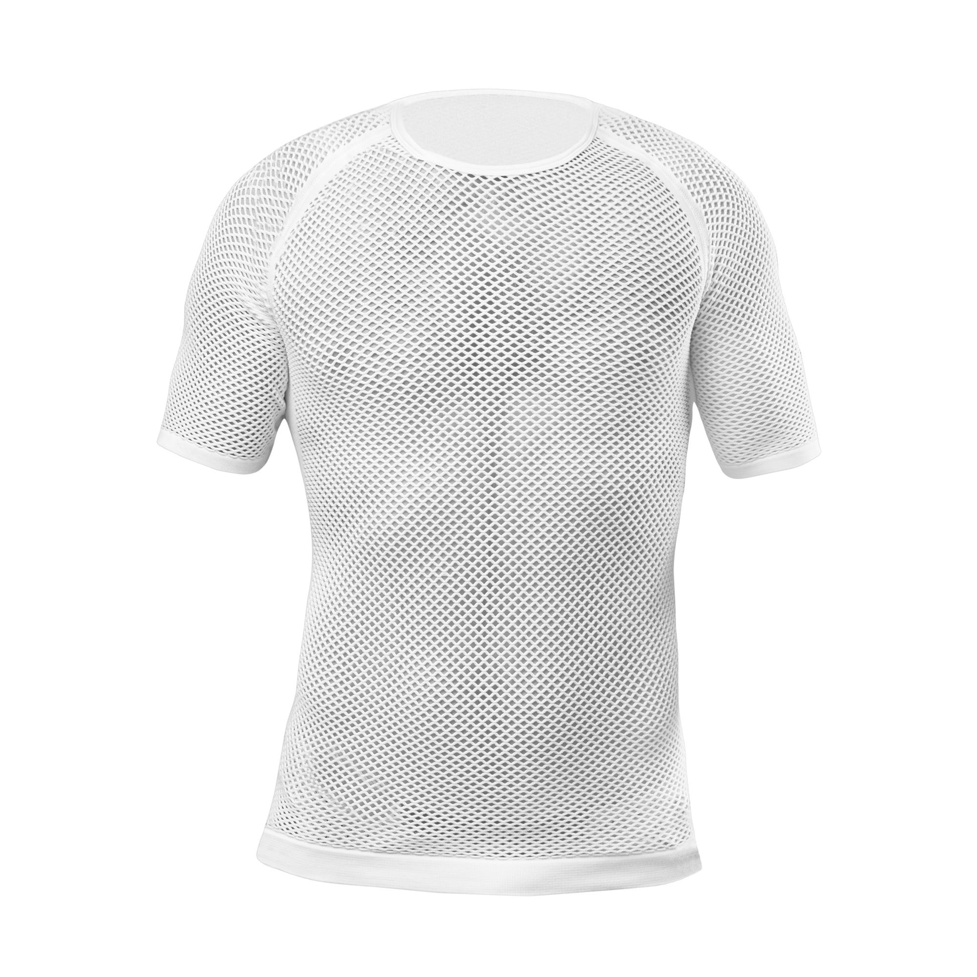 Afbeelding GripGrab Ondershirt korte mouwen Unisex Wit / 3-Season Short Sleeve Base Layer