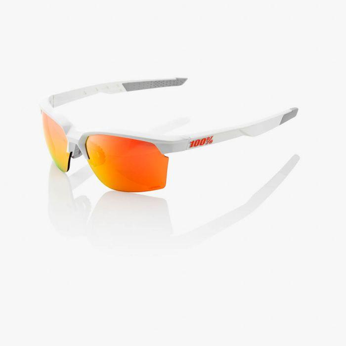 100% Fietsbril / Sportcoupe Hiper Lens  Soft Tact White