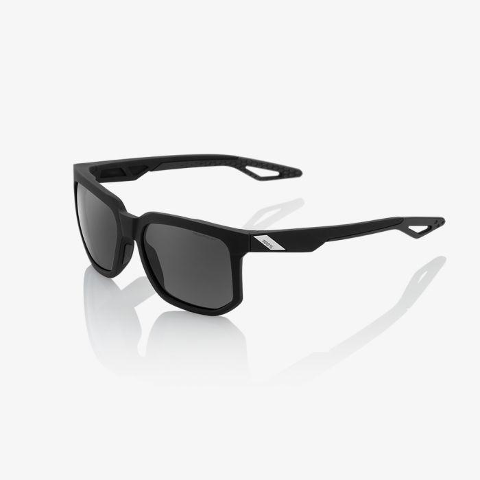 100% Casual Zonnebril / Centric Peakpolar Lens  Soft Tact Black