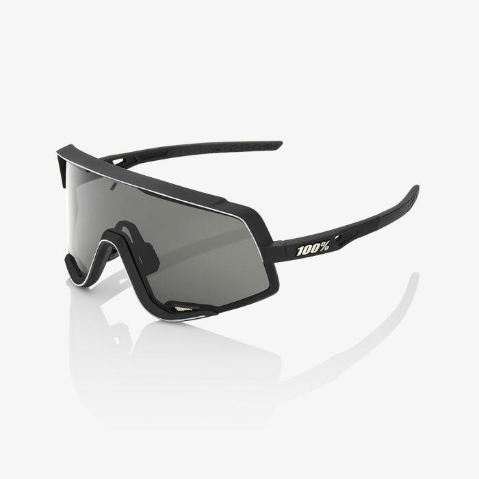 Afbeelding 100% Fietsbril / Glendale Smoke Lens Soft Tact Black