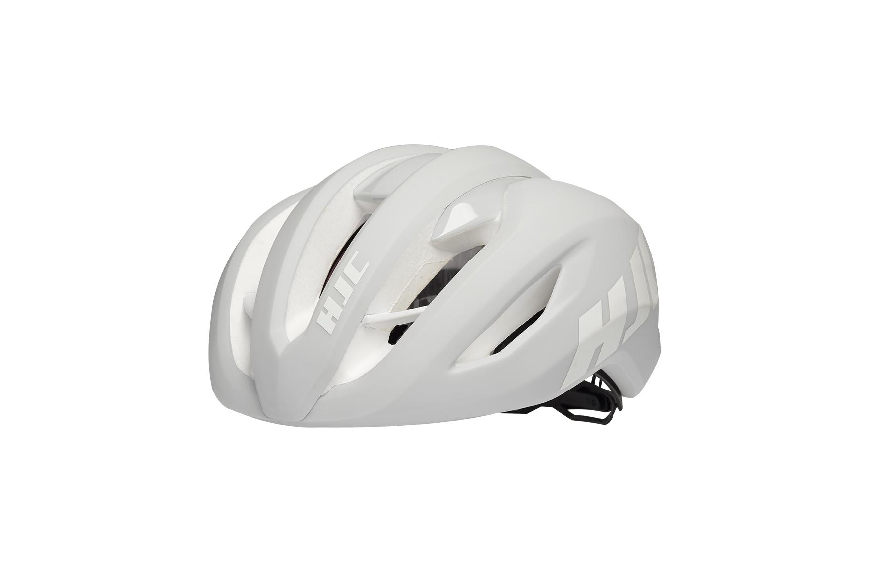HCJ VALECO Matt Gloss White - Fietshelm Wit