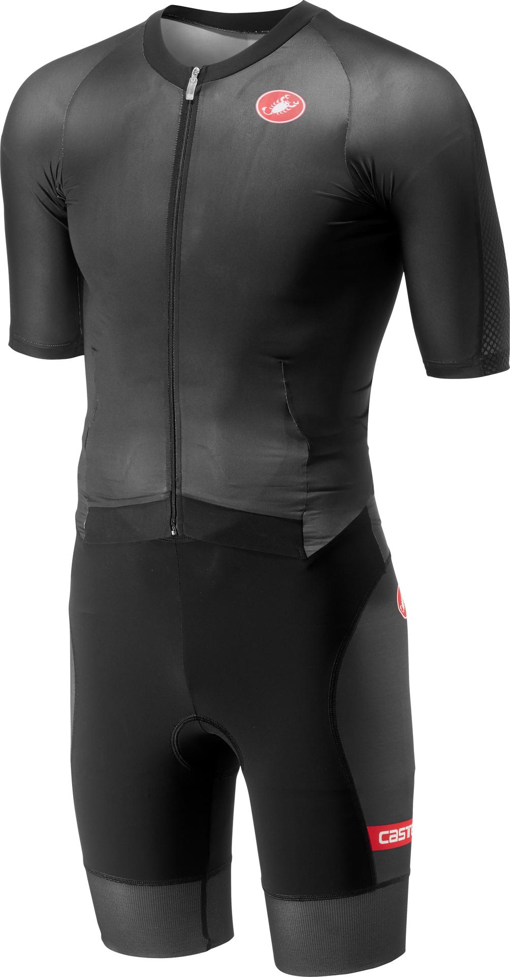 Castelli Snelpak Heren Zwart  - CA All Out Speed Suit-Black