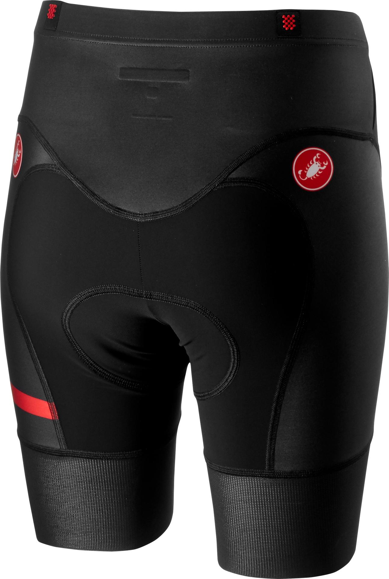 Castelli Triathlon broek Heren Zwart  - CA Free W Tri Short-Black