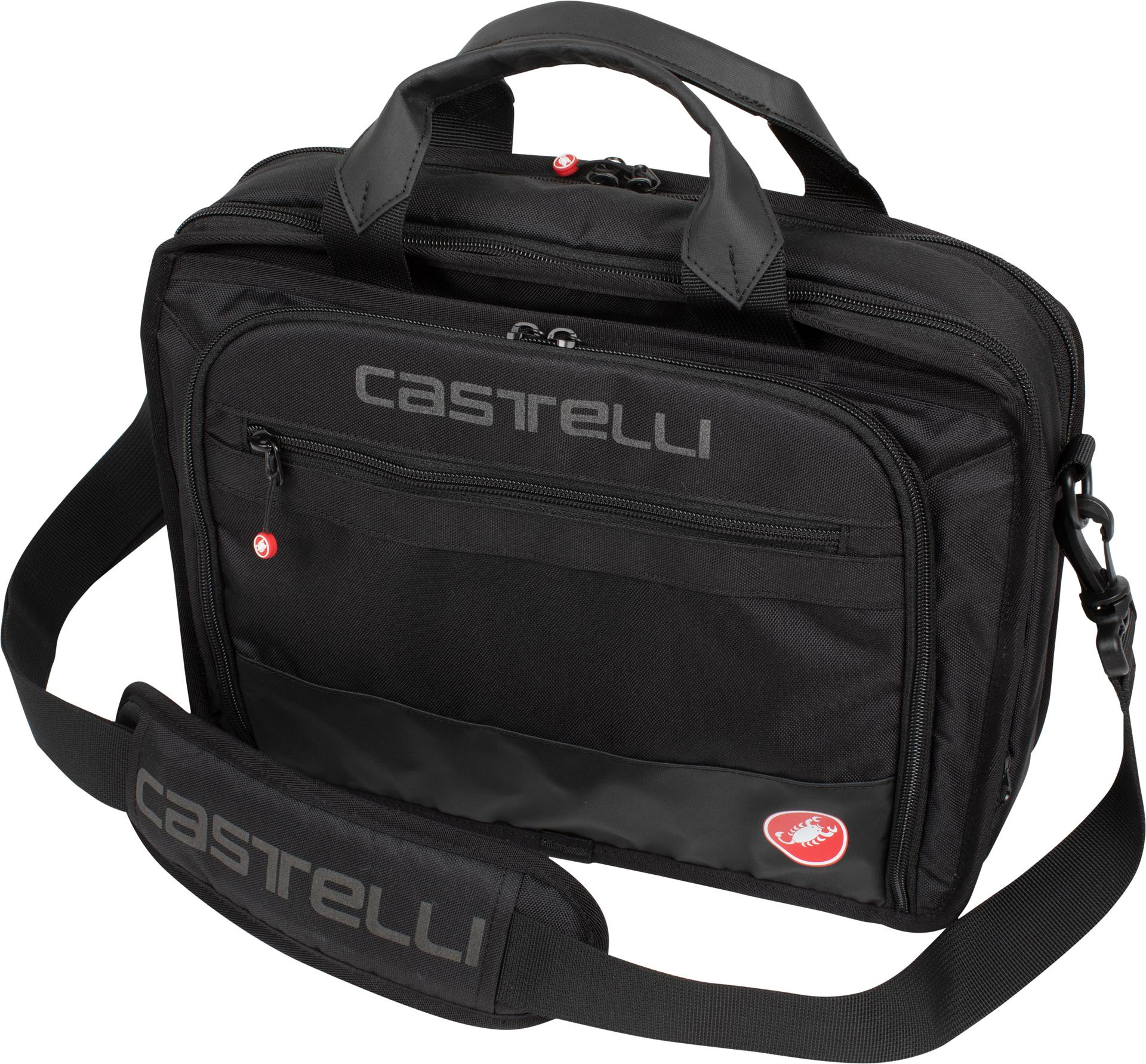 Castelli Casual tas Zwart  / CA Race Briefcase Black