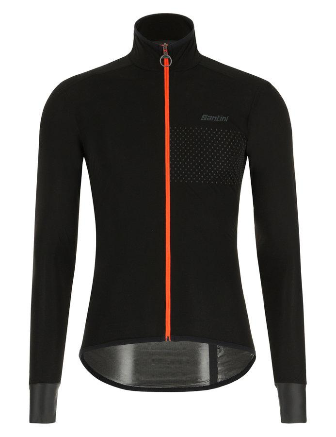 Santini Fietsjack lange mouwen Zwart Dames - Guard Nimbus Rain Jacket For Women Black
