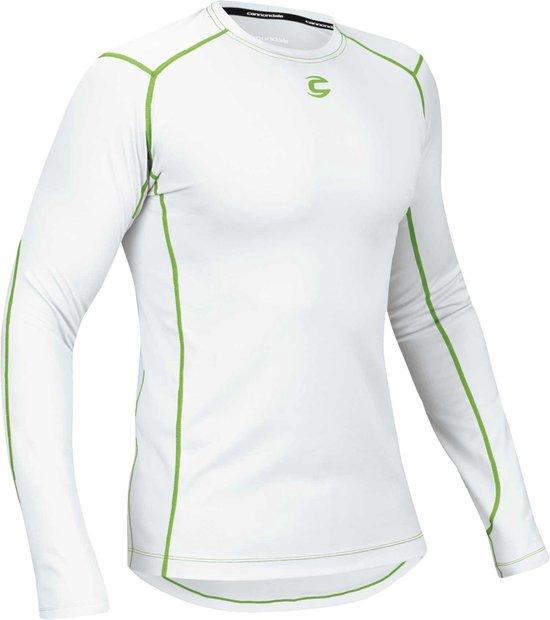 Cannondale Baselayer lange mouw ondershirt wit