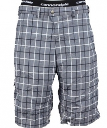 Cannondale Rush baggy short check grey