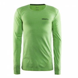 Craft Be Active Ondershirt Lange mouw groen