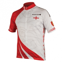 Endura Coolmax printed England wielershirt