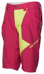 Haibike All Mountain MTB Baggy Shorts roze geel dames