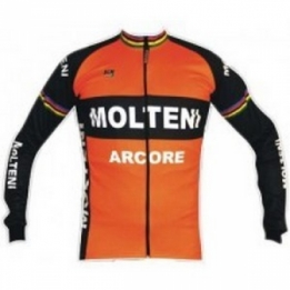 Molteni Arcore retro cycling jersey long sleeve eae48dfdb