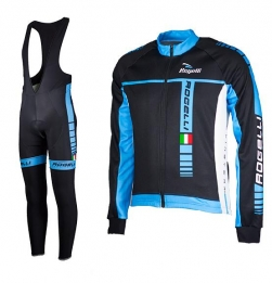 Rogelli Umbria wieleroutfit blauw lang