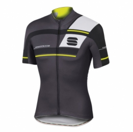Sportful Gruppetto Pro team wielershirt korte mouw antraciet