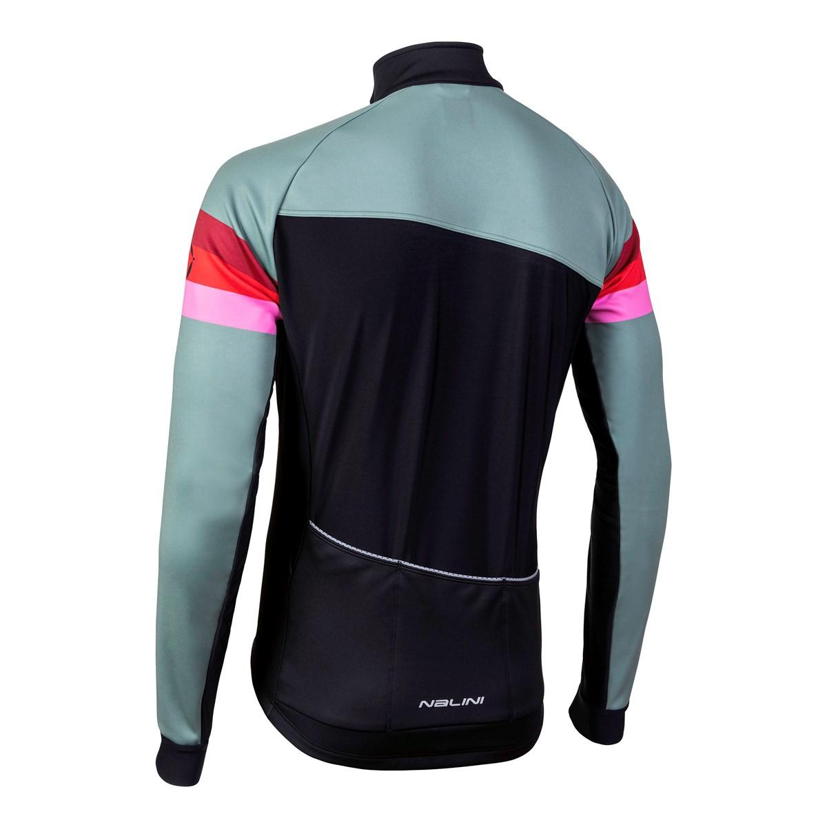 Afbeelding Nalini Fietsjack Heren Groen Zwart - AIW CRIT WARM JACKET 2.0 WINTER JACKET GREEN/BLACK