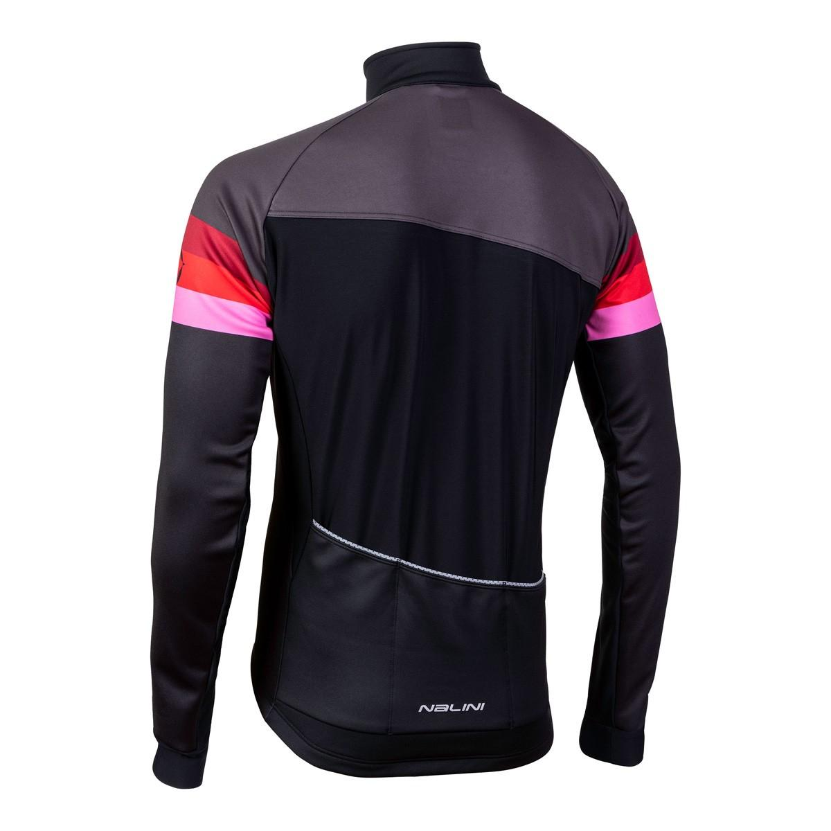 Afbeelding Nalini Fietsjack Heren Zwart Rood - AIW CRIT WARM JACKET 2.0 WINTER JACKET BLACK/ROSSO