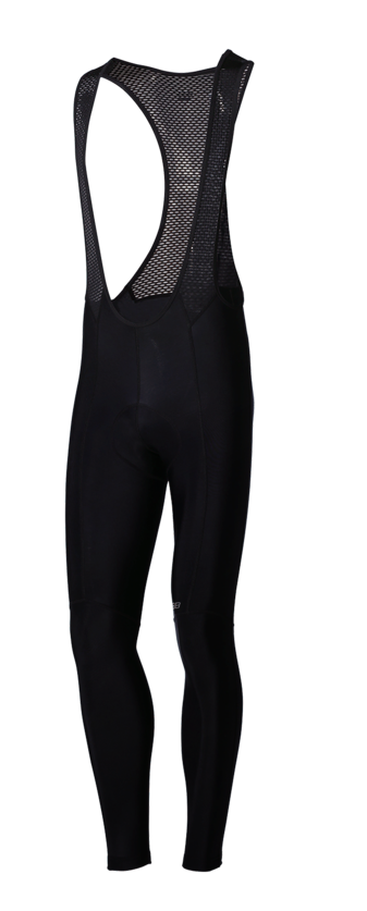 BBB Fietsbroek lang met bretels Zwart / Quadra Bib-Tights