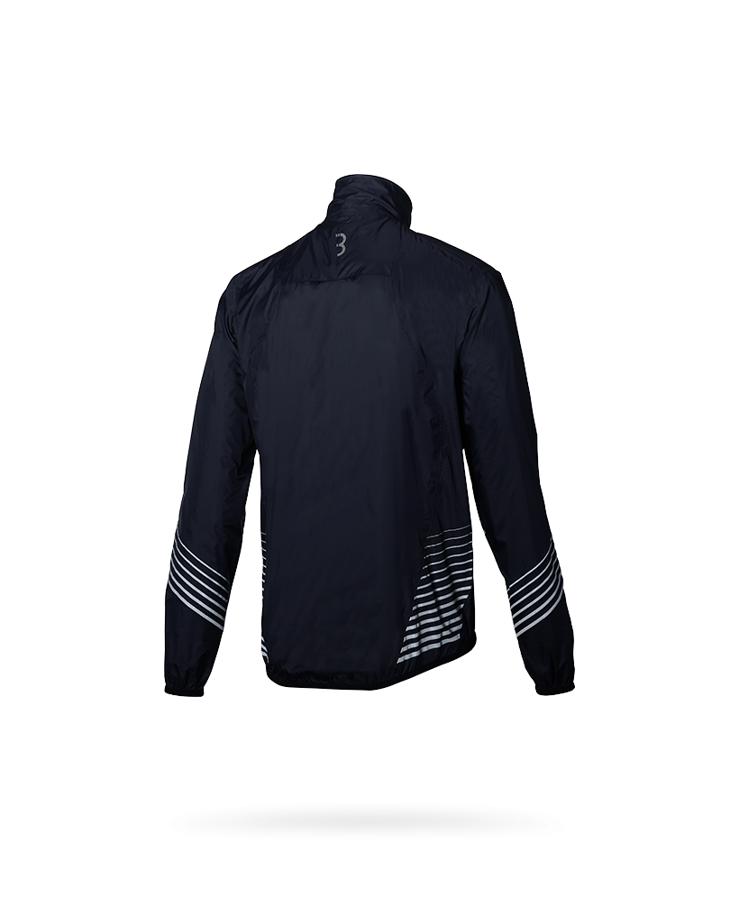 BBB StormSHIELD Rainjacket / Wind/Regenjack waterdicht Zwart