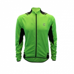 Cannondale midweight performance classic wielershirt lange mouw groen  2016