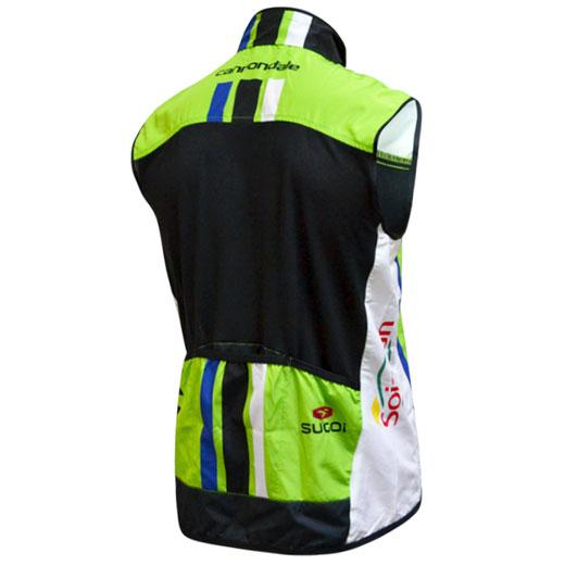 Afbeelding Sugoi Cannondale Pro Cycling Windstopper Mouwloos Groen