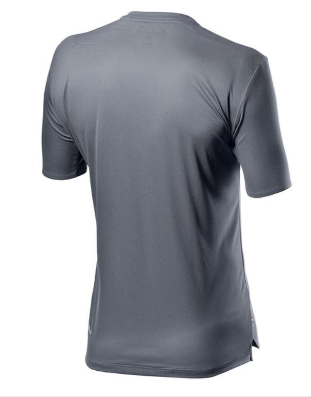 Castelli Casual T-shirt Heren Grijs - CA Tech Tee Silver Gray