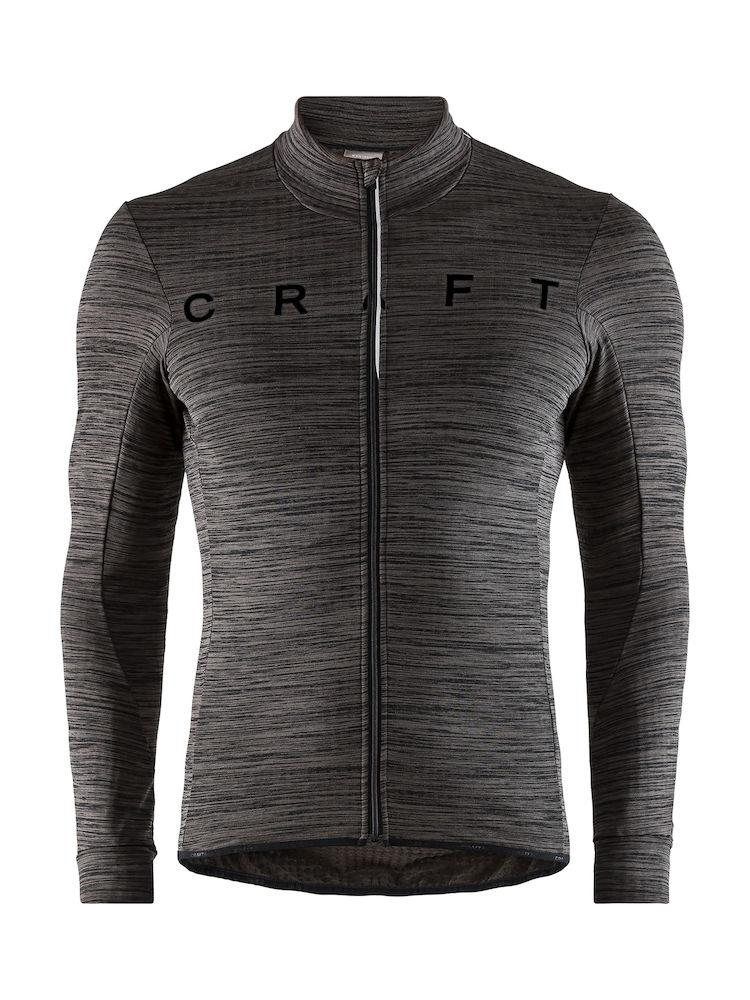 Craft Fietsshirt lange mouwen Heren Zwart / IDEAL THERMAL JERSEY M BLACK