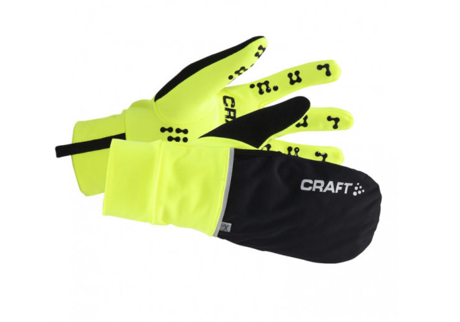 Craft Fietshandschoenen Winter Unisex Fluo  / HYBRID WEATHER GLOVE FLUMINO