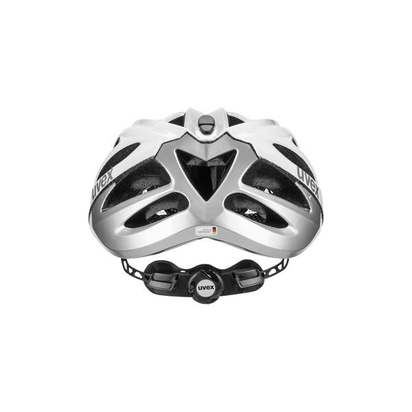 | Uvex Fietshelm Race Wit Zilver Unisex - UV Boss Race-White Silver