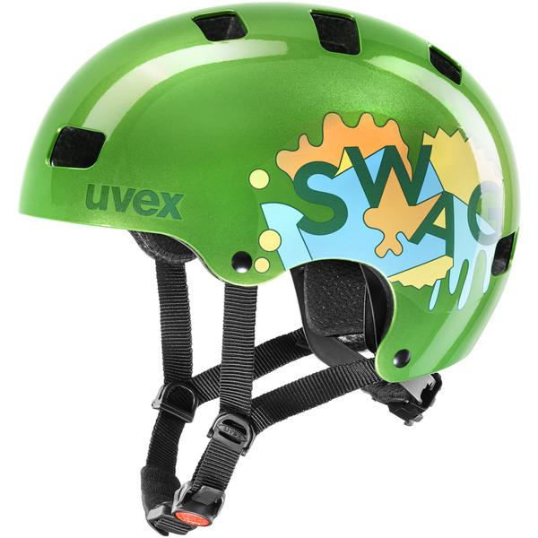Uvex Fietshelm Urban Groen  Kids - UV Kid 3-Green