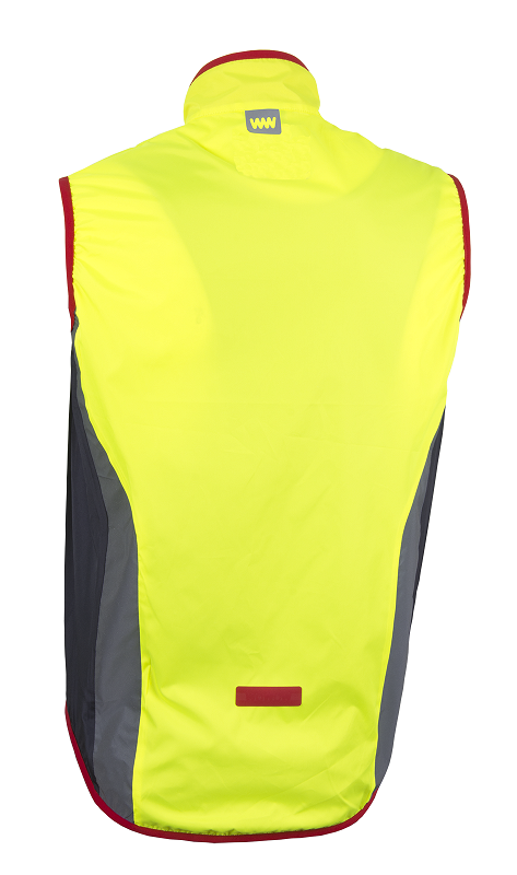 Afbeelding Wowow Cycle Wind Vest 2.0 / Windstopper Yellow