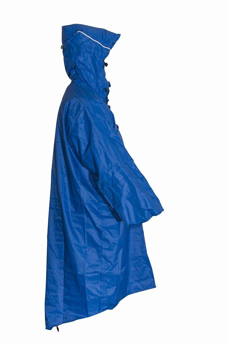 Mac in a Sac Wandelponcho unisex Blauw  / Walkingponcho blue