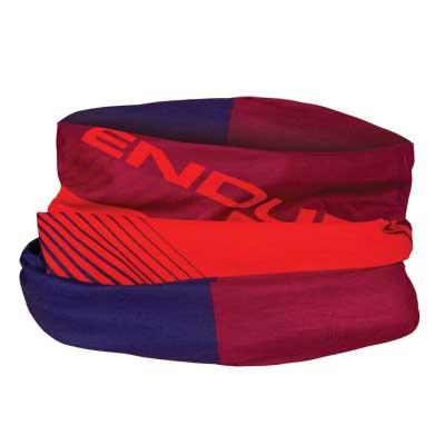 Afbeelding Endura Bandana Heren Bordeaux / SingleTrack Multitube nekwarmer - Mulberry
