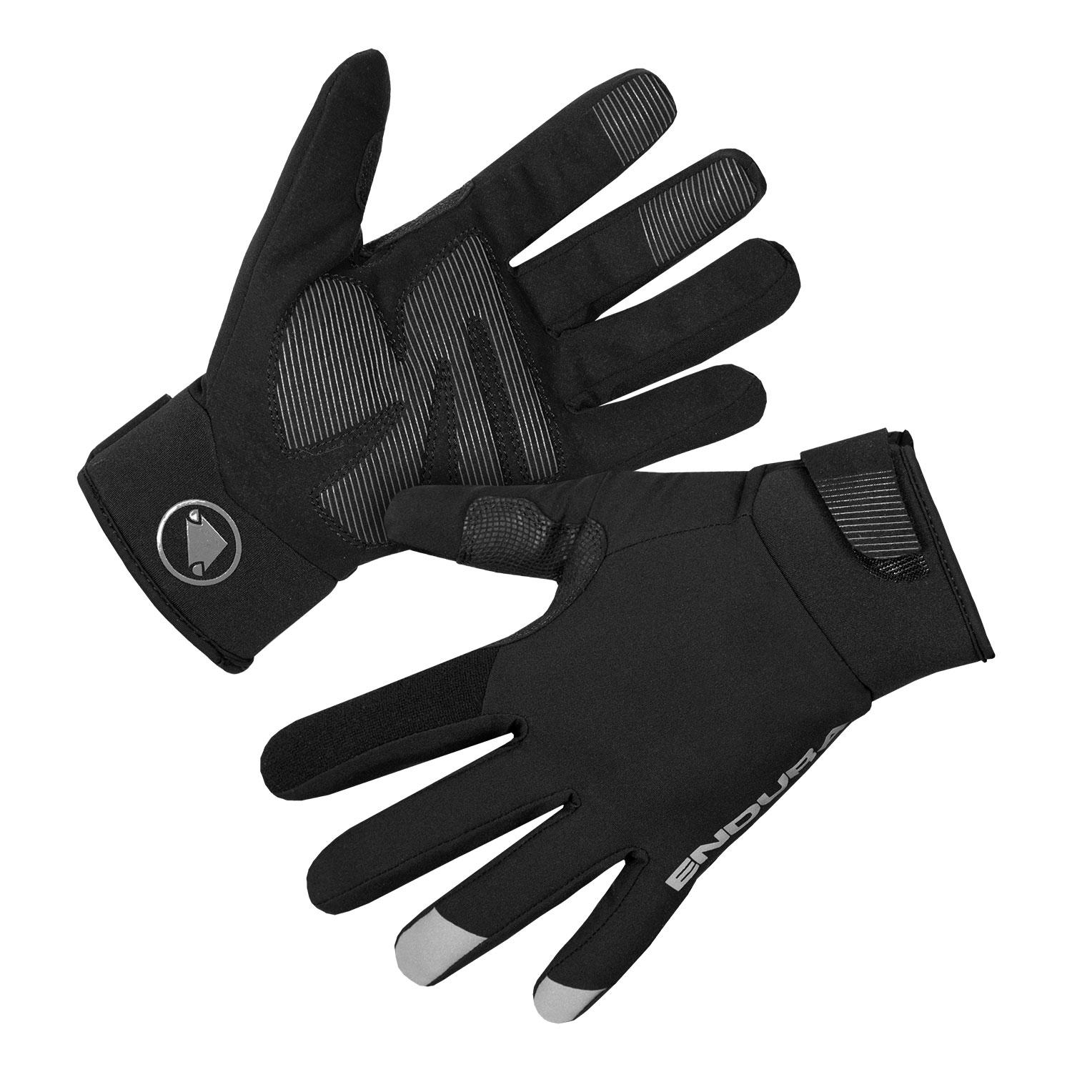 Endura Fietshandschoenen Winter Heren Zwart - Strike Glove Black