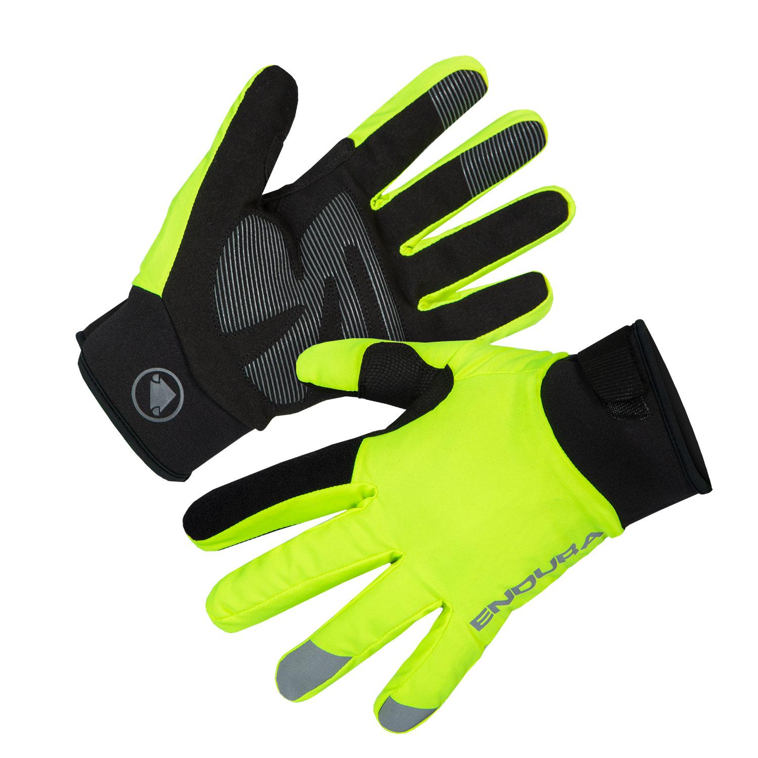 | Endura Fietshandschoenen Winter Heren Fluo - Strike Glove Hi-Viz Yellow