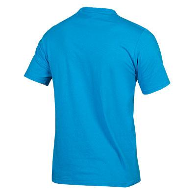 Endura Casual shirt korte mouwen Heren Blauw / One Clan Light Tshirt: Hi