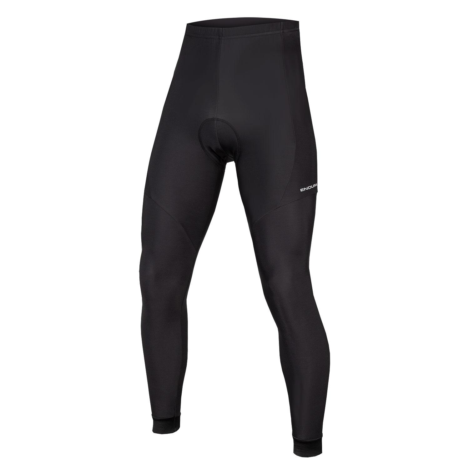 Endura Fietsbroek lang zonder bretels Heren Zwart - Xtract Waist Tight Black