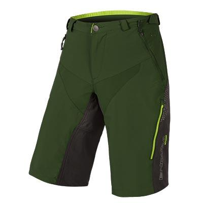 | Endura MTB Baggy korte fietsbroek Heren Groen / MT500 Spray Baggy Short II - ForestGreen