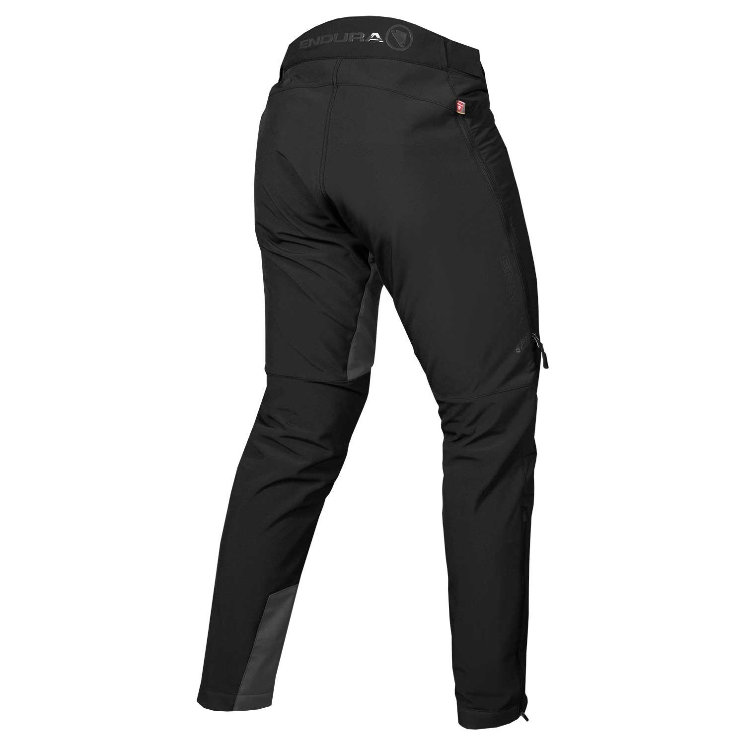 | Endura MTB fietsbroek baggy lang Heren Zwart / MT500 Freezing Point Trousers: Zwart