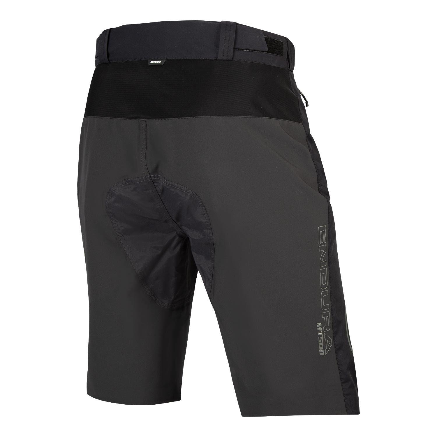 Endura MTB fietsbroek kort waterafstotend Heren Zwart - MT500 Spray Short Zwart