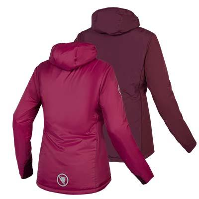 | Endura Fietsjack Dames Bordeaux / Dames FlipJak Reversible Jas - Mulberry