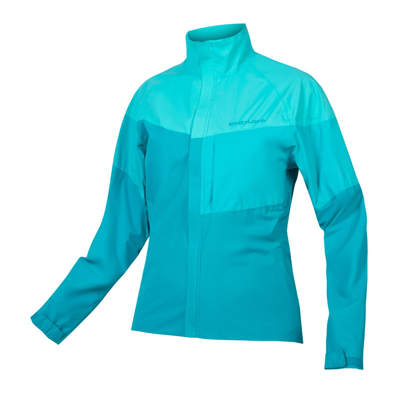 Endura Regen en Windjack Dames Blauw - Womens Urban Luminite Jacket II Oceaan blauw