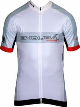 Endura MTR race wielershirt wit