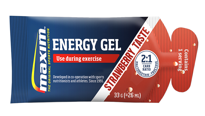 Afbeelding Maxim Energy Gel Strawberry  33 gr.
