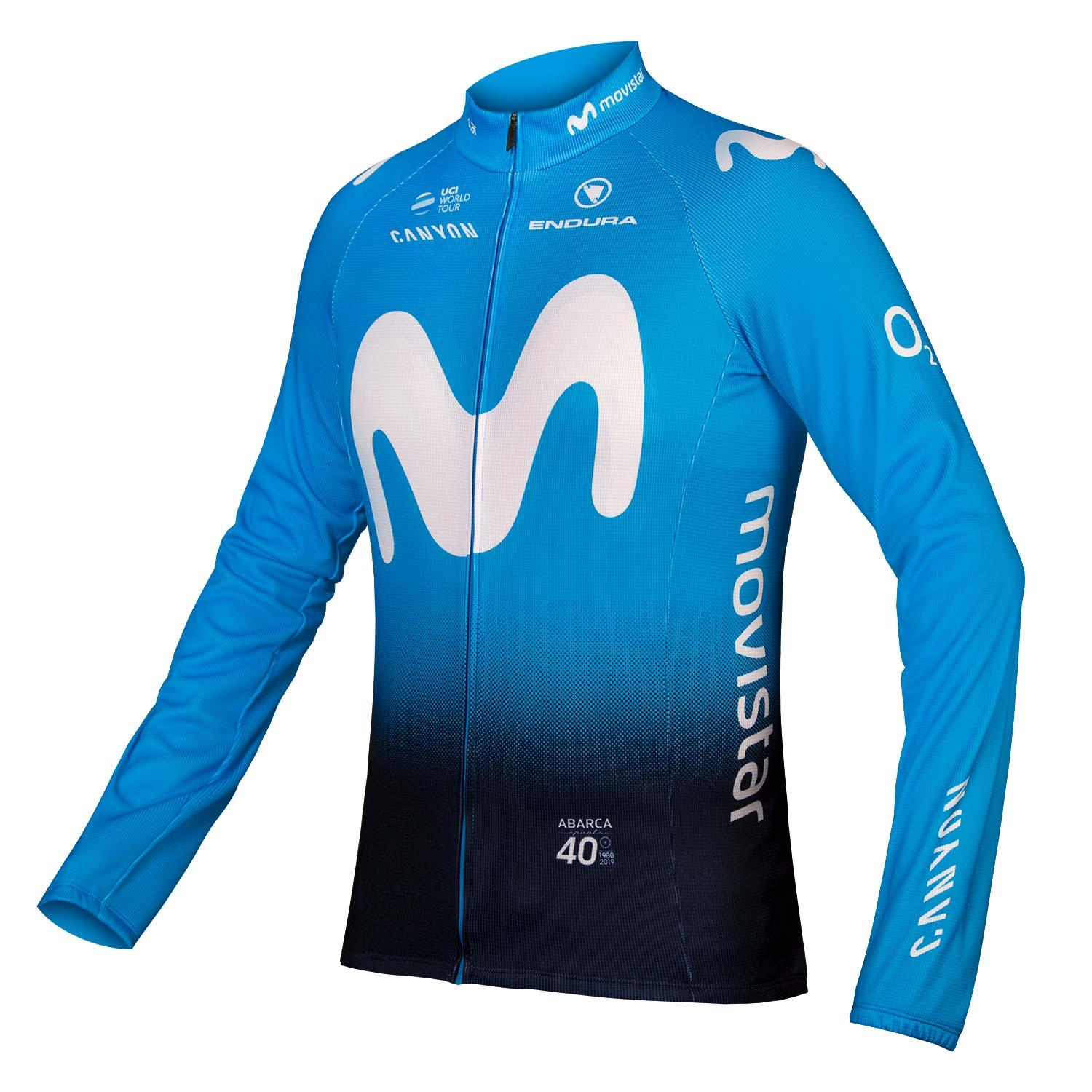 | Endura Fietsshirt lange mouwen Heren  / Movistar Team Lange mouw shirt