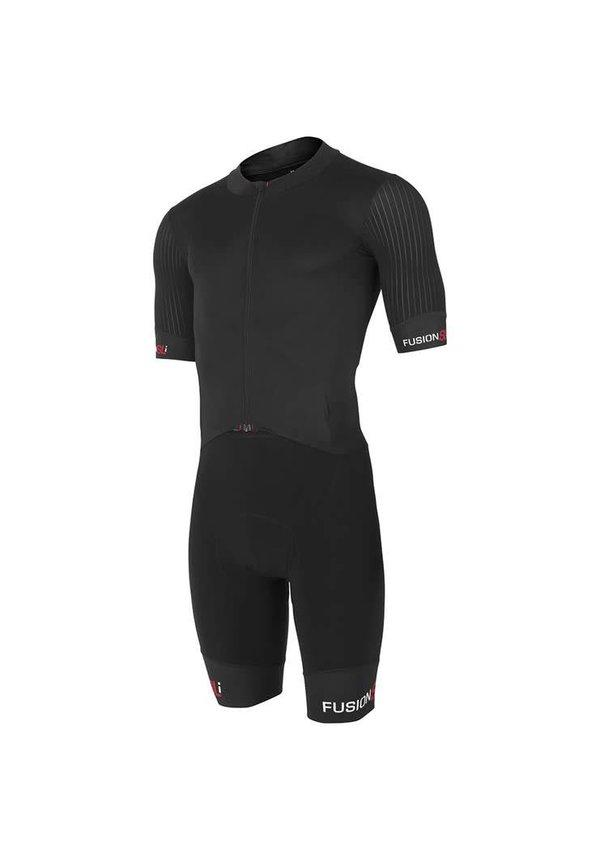 Afbeelding Fusion Snelpak Heren Zwart / MENS SLi ROAD RACE SUIT BLACK