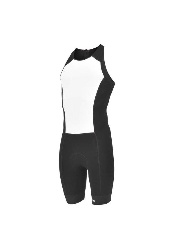Afbeelding Fusion Triathlon pak Heren Wit Zwart / MENS SLi TRI SUIT WHITE/BLACK