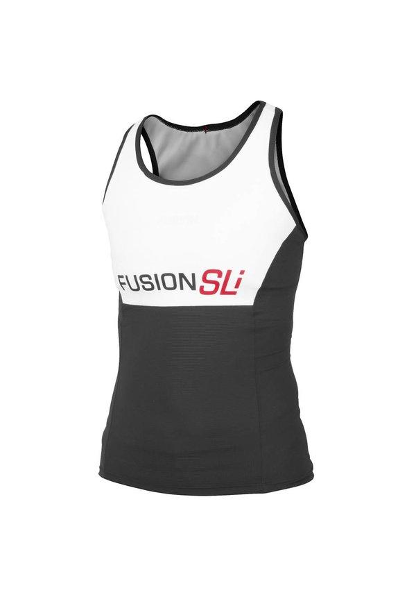 Afbeelding Fusion Triathlon top Dames Wit / WMS SLi TRI TOP WHITE/BLACK