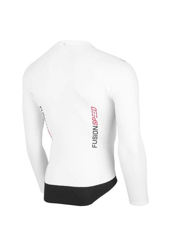Afbeelding Fusion Triathlon top lange mouwen Unisex Wit / SPEED TOP LONG SLEEVE WHITE